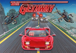 The Getaway Backglass