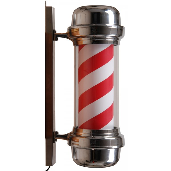CL 62 Silver Barber Pole-600x600